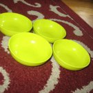New Tupperware Chic Dining Mini Serving Bowls Margarita Green