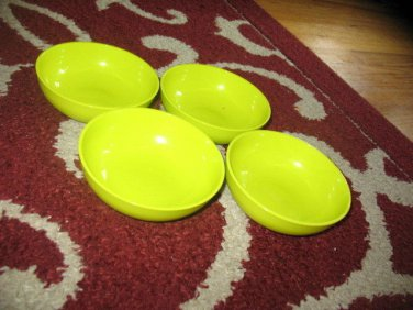 New Tupperware Chic Dining Mini Serving Bowls Margarita Green