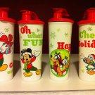 Tupperware SoccerHolidays Sport Water Bottles Tumbler Pour Spout 16oz New Rare
