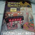 Vintage Quilts Quilting Book by Aug, Newman and Roy