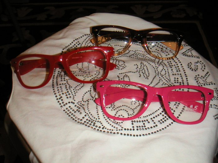 glasses frame colorful