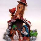 Nativity Scene - Clay