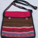 "Alpaca/Wool Woven Fabric Multi-Color 11 1/2"" x 10 1/2  Handmade in Peru"