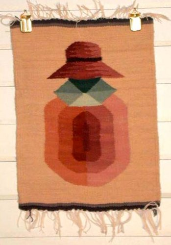 Tapestry - Woman sitting- Mini