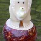 Ecuador Tagua Nut Carving Elephant