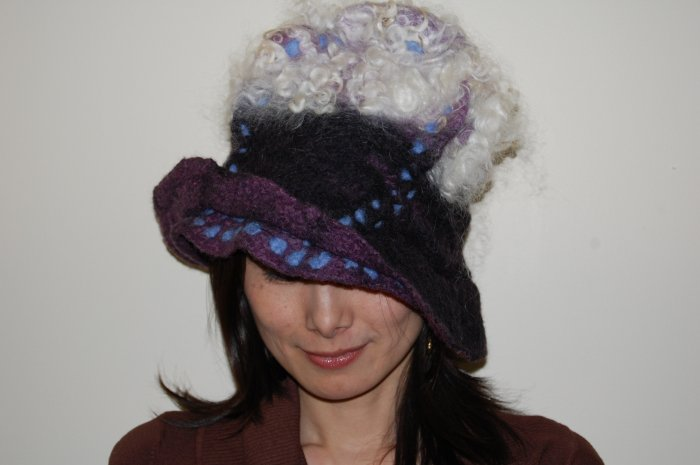 Gray/Blue Mesh Hat