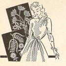 Crochet - Tulip & Daisy Flower Sprays (ref: e1017c)