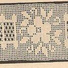 Crochet - Edging-Insertion  / Lacet Stitch (ref: e1025c)