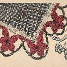 Crochet - Flowers on Parade Edging (ref: e1027c)