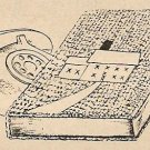 Crochet - Telephone or Book Cover (ref: e1031c)