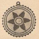 Crochet - Star Pan Pot Holder Cover (ref: e1032c)