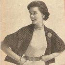 Crochet - Cape Stole (ref: e1041c)