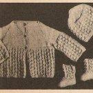 Knit  - Baby Ensemble (ref: e1123k)