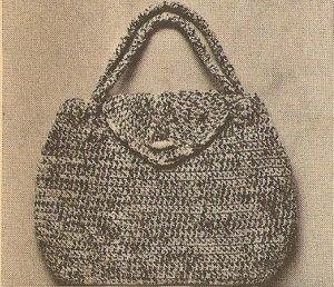 Crochet - Purse Handbag (ref: e1129c)