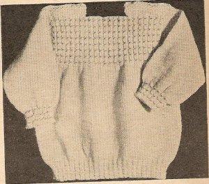 Knit  - Infant's Slipover Sweater (ref: e1141k)
