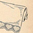 Crochet - Filet Heart Edging (ref: e1149c)
