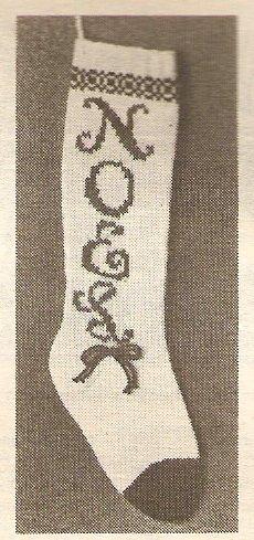 Knit  - NOEL Stocking (ref: e1192k)