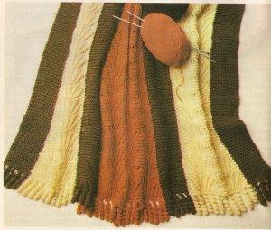 Knit  - Afghan (ref: e1193k)