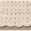 Crochet - Two Color Baby Afgan (ref: e1196c)