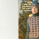 Knit  - Ski Sweater & Hat (ref: e1206k)
