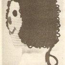 Crochet - Doll Face Bonnett (ref: e1213c)