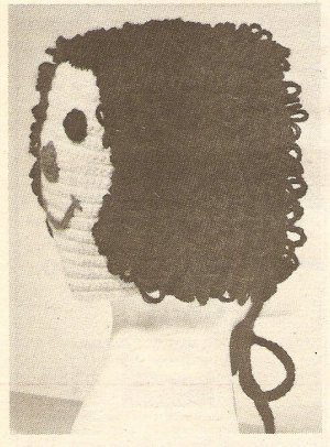 Crochet - Doll Face Bonnett (ref: e1213c)