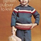 Knit  - Child's Crew Neck Pullover (ref: e1214k)