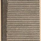 Crochet - Fiesta Place Mat (ref: e1218c)