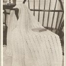 Crochet - Shells and Chains Afghan (ref: e1226c)