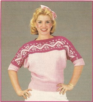 Knit  - Boat Neck Pullover Sweater (ref: e1247k)