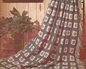 Crochet - Classic Modern Afghan (ref: e1249c)