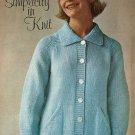 Knit  - Simplicity in Knit Sweater (ref: e1251k)