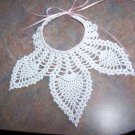 Pineapple Stitch Infant Bib Crochet