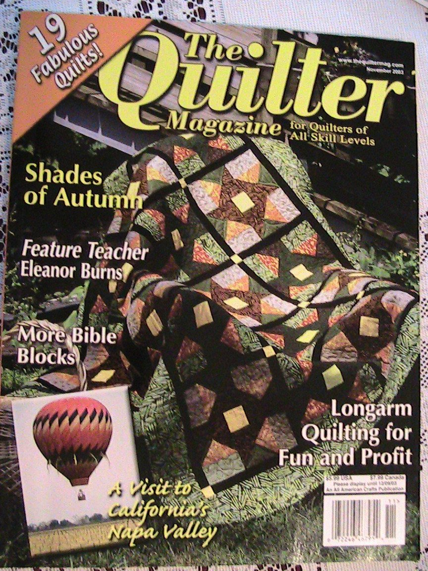 The QUILTER Magazine - November 2003