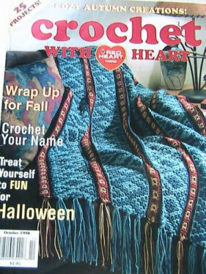 Crochet With Red Heart - October 1998