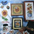 Cross Stitch #3630 - SUNFLOWERS Sunflowers Sunflowers