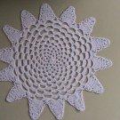 Hand Crochet White Spiral Star by Vintage Stitchez
