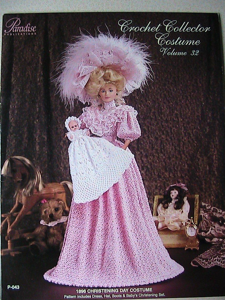 1896 Christening Day Costume - Crochet Collector Costume