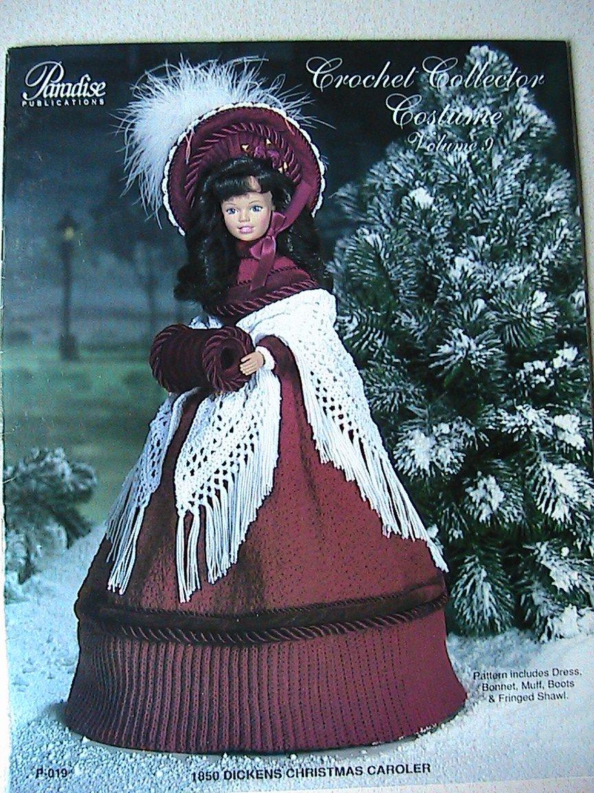 1850 Dickens Christmas Caroler - Crochet Collector Costume