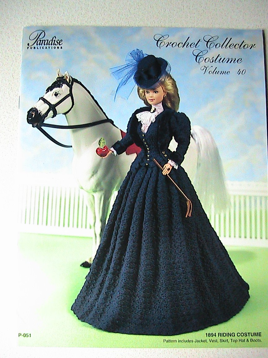 1894 Riding Costume - Crochet Collector Costume
