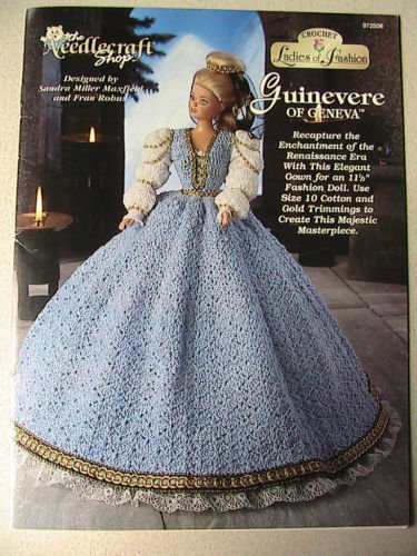 Crochet Ladies of Fashion ~ GUINEVERE of Geneva