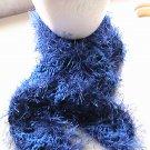 Crocheted Royal Blue Scarf