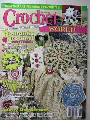 Crochet World - February 1994