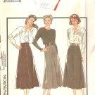 Style #1376 Dressy Skirt Sewing Patterns  Size 8-14 UNCUT