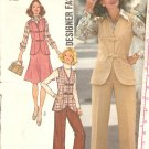 Simplicity #7088 Dress Suit Pants Sewing Patterns Size 14 CUT