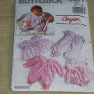 Butterick #5001 Baby girl dress sleeper Sewing Pattern CUT