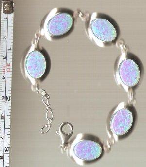 Sterling silver wrist bracelet