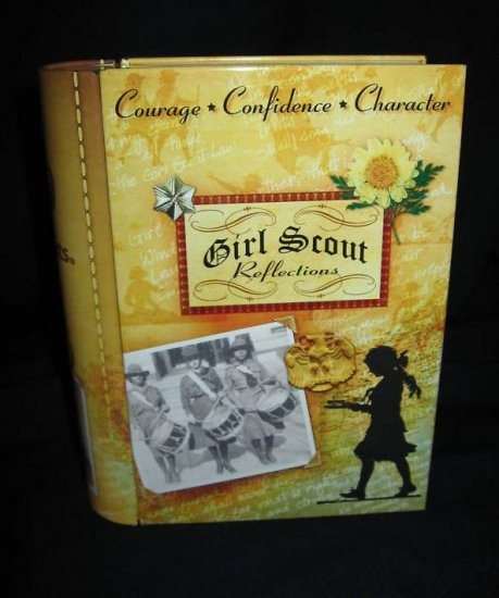 Girl Scouts Reflections Book Tin