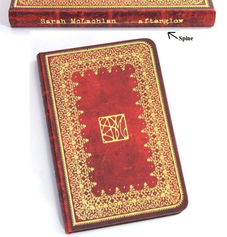 Sarah McLachlan Afterglow Journal Diary Book & Sarah postcard