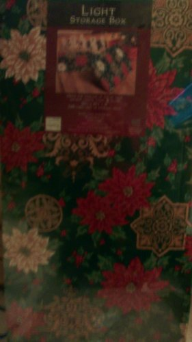 Christmas Light Storage Box - Decorative Cardboard